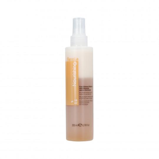 FANOLA NOURISHING Restructuring Dwufazowa odżywka do włosów w sprayu 200ml