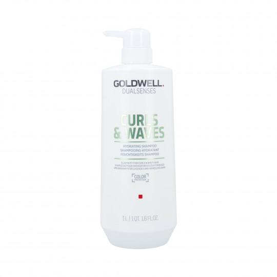 GOLDWELL DUALSENSES CURLS&WAVES Nawilżający szampon do włosów 1000ml