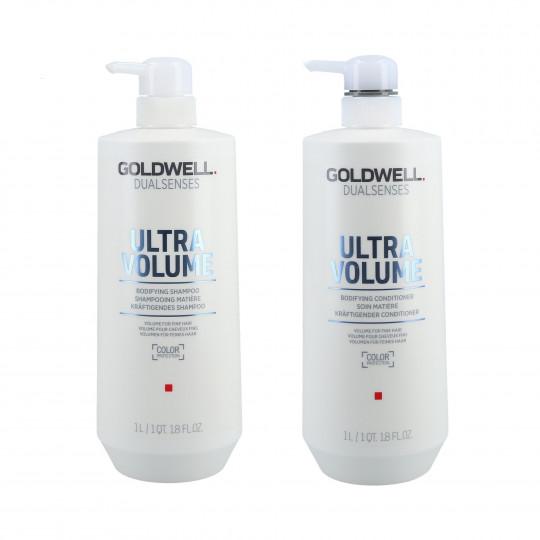 GOLDWELL DUALSENSES ULTRA VOLUME Zestaw szampon 1000ml+odżywka 1000ml