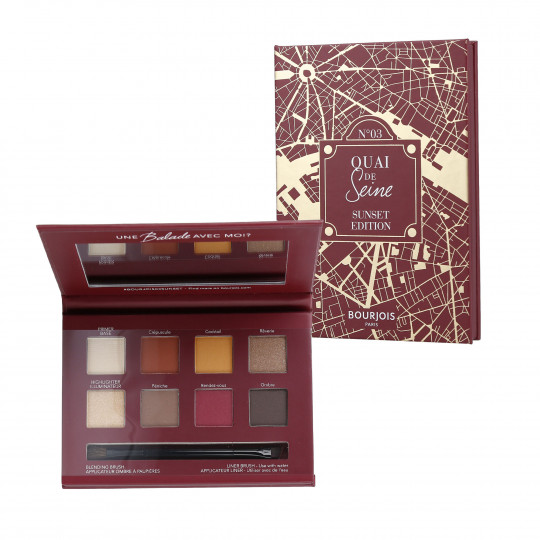 BOURJOIS Beau Regard 03 Sunset Paleta do makijażu oczu 7,68g