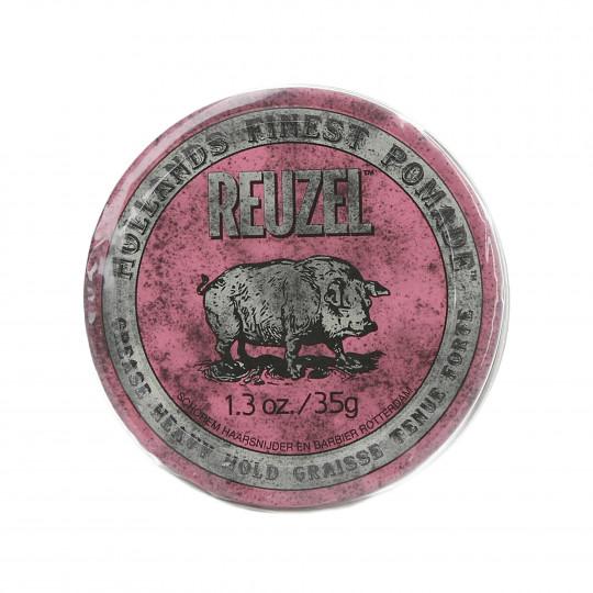 REUZEL Pink Różowa pomada woskowa do włosów 35g