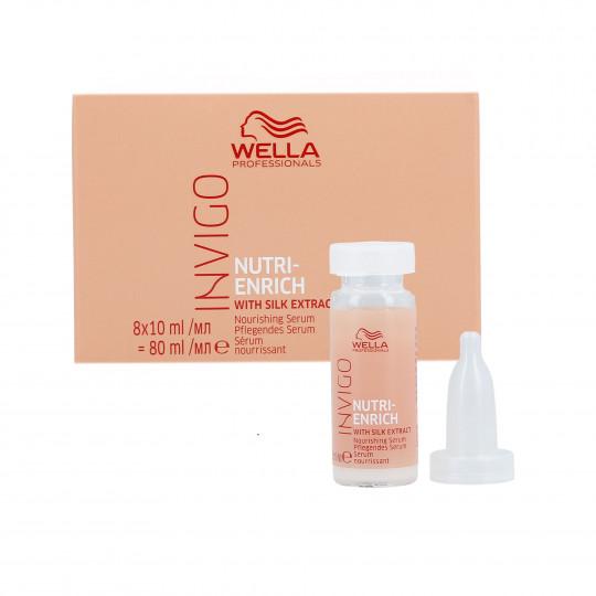 WELLA PROFESSIONALS INVIGO NUTRI-ENRICH Serum do włosów suchych 8x10ml