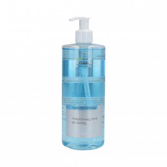 BIELENDA PROFESSIONAL HYALURONIC FACE TONER Hialuronowy tonik do twarzy 500ml