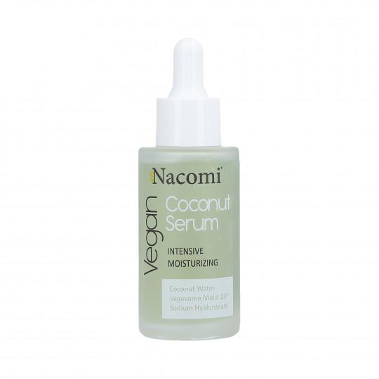 NACOMI Ultra nawilżające serum do twarzy z wodą kokosową 40ml