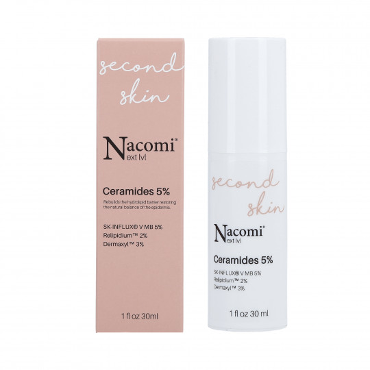 NACOMI NEXT LEVEL SECOND SKIN Ceramidy 5% 30ml