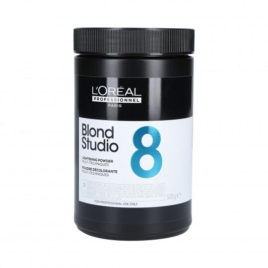 L'OREAL BLOND STUDIO Puder dekoloryzujący do włosów 500g