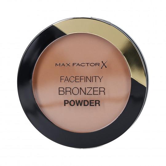 MAX FACTOR FACEFINITY Matowy bronzer do twarzy 01 Light Bronze