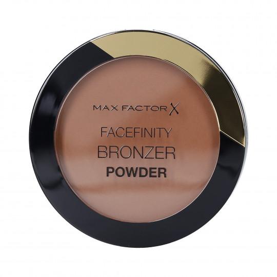 MAX FACTOR FACEFINITY Matowy bronzer do twarzy 02 Warm Tan