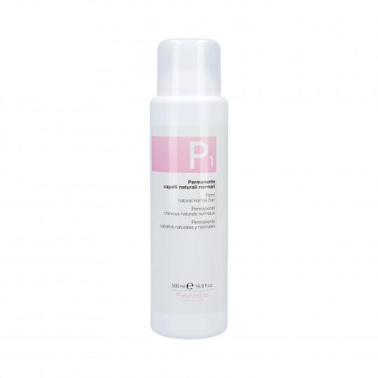 FANOLA PERMANENT 1 Płyn do trwałej ondulacji dla włosów zdrowych 500ml