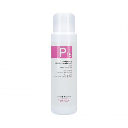 FANOLA PERMANENT 1S Płyn do trwałej ondulacji dla włosów mocnych 500ml